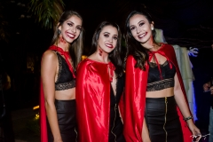Mariana Kolb, Tarcia Costa e Eliza Barros