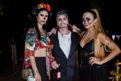 Natália Medeiros, Yago Oliveira e Rayssa Maia