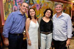 Carlos e Fatima Araujo, Rejane e Alberto Regio