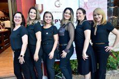 Claudene Nobre, Regina Gomes, Isabel Rocha, Cyntia Sampaio, Dayane Garcez e Aglais Torres