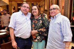 Edson Almeida, Celia e Edmundo Freitas