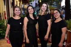Isabel Rocha, Paula Valesca, Regina Gomes e Juliana Barros