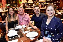 Juliana e Cito Carvalho, Isaac e Cheyla Furtado