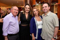 Marinaldo Cavalcante, Cris Ary, Sofia e Marinado Cavalcante Junior
