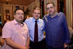 Paulo Robson, Tarso Ary e Vinicius Tavares