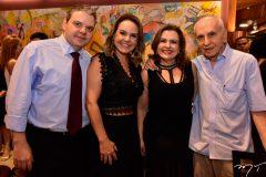 Tarso, Cris, Edgard e Roberta Ary