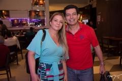 Ana Lorena e Cláudio Arcuri