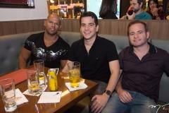 Diego Peterson, Talis Cruz e Pedronino Veras