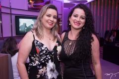 Silvia Pinheiro e Ivanize Freitas