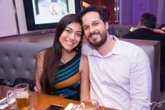 Tatiana Cavalcante e Carlos Nascimento