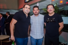 Luciano Cavalcante, Adriano Alves e Elano Bezerra