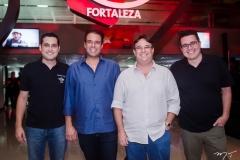 Luiz Sobreira, Fábio Campos, Alberto Saboia e Samuel Sicchierolli