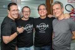 Marcelinho da Costa, Sérgio Vulcanis, Rircardo Bacelar e Arnaldo Brandão