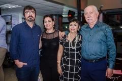 Marcelo Holanda, Cristina, Inês Paiva e Silveira Carvalho