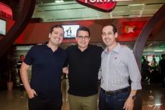 Rodrigo Ponte, Samuel Sicchierolli e Marcelo Vargas