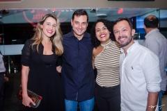Samanta, Luiz Miranda, Samara Figueiredo e Lucílio Bessa