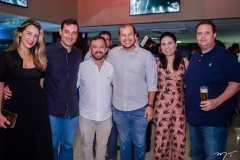 Samantha, Luiz Miranda, Lucílio Bessa, Pedro Ariel, Nathália Caetano e Marcelo Rocha
