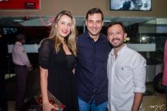 Samantha, Luiz Miranda e Lucílio Bessa