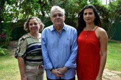 Paloma Antero, Urubatan Romero e Suellen Gomes