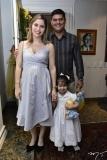 Aline, Victor e Alice Holanda
