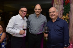 Antonio Barroso, Plínio Câmara e Wilgens Garcia