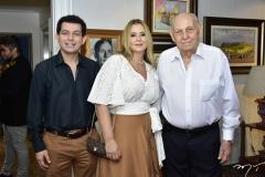 Cláudio, Ana Lorena e General Gazzeneo