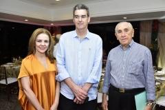 Denise Matos, Geraldo Luciano e Ernandes Uchoa