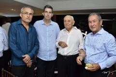 Gláuco Lobo, Geraldo Luciano, Adauto Bezerra e Vandorcir Romero