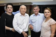 Silvana e Adauto Bezerra, Guilherme e Silvana Theophilo