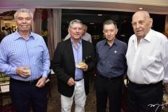 Tomaz Nunes, Henrique Theophilo, João Sousa e General Gazzeneo