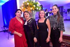 Jamile, Helena Teles, Edina Cruz e Ielina Teles