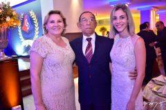 Joana, Cel. Martins e Elaine Martins