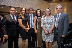Antunes Mota, Carla Mota, Adriano Borges, Silvia Rego, Luciana Mota e Regis Mota
