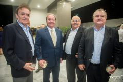 Assis Antero, Chiquinho Aragão, Claudio Filomeno e Marcos Bandeira