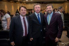 Benígno Junior, Maurício Filizola e Élcio Batista