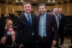 Maurício Filizola e Élcio Batista