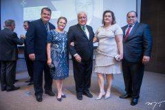 Waldyr Diogo Neto, Helena Diogo, Waldyr Diogo Filho, Helena Diogo e Samuel Diogo
