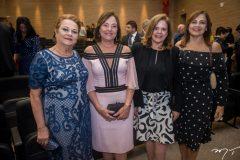 Helena Diogo, Ana Studart, Roseane Medeiros e Rosangela Cavalcante