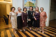 Constancia Távora, Celma Prata, Edyr Rolim, Bernadete Bezerra, Ester Weyne e Margarida Magalhães