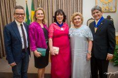Fabiano Piuba, Lenise Queiroz, Angela Gutierrez, Consuelo Dias Branco e José Augusto Bezerra