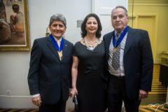 José Augusto Bezerra, Ana Maria Jereissate e Luciano Maia