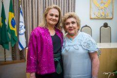 Lenise Queiroz e Consuelo Dias Banco