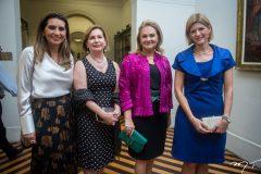 Márcia Travessoni, Fátima Veras, Lenise Queiroz e Cristina Praça