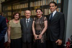 Oneida Pinheiro, Seridião Montenegro, Luiziana Esteves e Wilson Loureiro