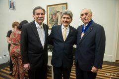 Osvaldo Gutiérrez, José Augusto Bezerra e Ernando Uchoa