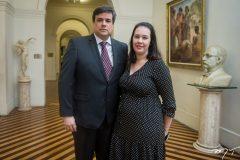 Oswaldo Gutiérrez Filho e Priscila Gutierrez