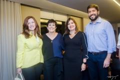 Aline Félix Barroso, Adriana Bezerra, Luciana Almeida e Rodolpho Pires