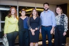 Aline Félix Barroso, Adriana Bezerra, Luciana Almeida, Rodolpho Pires e Renata Santiago