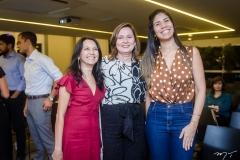 Aurineide Lemos, Renata Santiago e Carine Barbosa