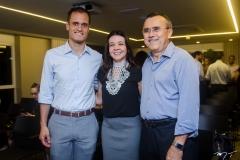 Ênio Leão, Lizandra Pinheiro e Roque Albuquerque